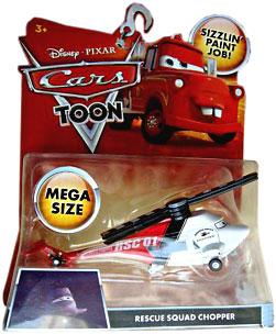 Cars Toon - Mega Size Rescue Squad Chopper
