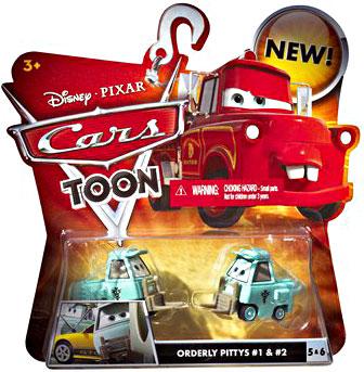 Cars Toon - Orderly Pitties