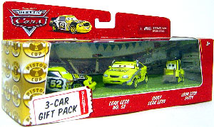 World Of Cars - 3-Car Gift Pack Boxed - Leak Less, Chief Leak Less, Pitty Leak Less