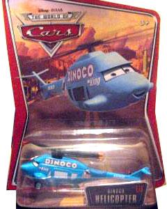 Disney Pixar World of Cars - Dinoco Helicopter