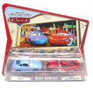 World of Cars - Sally and Cruisin McQueen