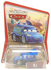 Disney Pixar World of Cars - DJ