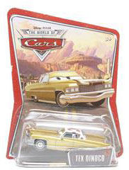 Disney Pixar World of Cars - Tex Dinoco