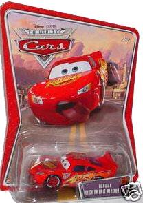 Disney Pixar World of Cars - Tongue Lightning McQueen