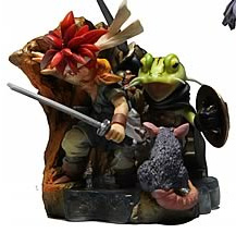 Chrono Trigger - Crono and Frog