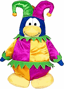 Club Penguin Plush - Court Jester
