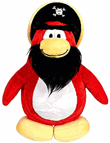 Club Penguin Plush - Capt Rockhopper