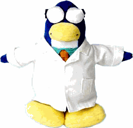 Club Penguin Plush - Gary The Gadget Guy[Series 2]