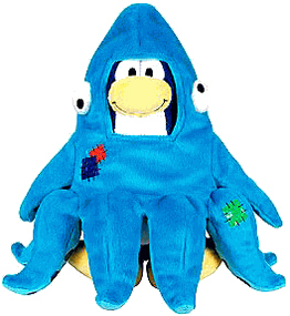 Club Penguin Plush - Squidzoid