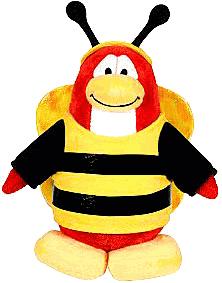 Club Penguin Plush - Bumble Bee