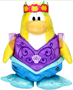 Club Penguin Plush - Mermaid[Series 5]
