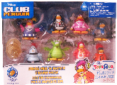 Club Penguin 2-Inch Mix N Match Figure Pack [Cheerleader, Gamma Gal, Shadow Guy, Referee, Cadence, Knight, Blue Dragon and Rocks