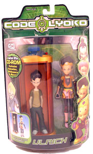 Code Lyoko - Ulrich with Transforming Chamber