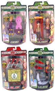 Code Lyoko Series 1 Set of 4