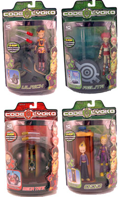 Code Lyoko Series 2 Set of 4