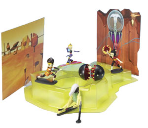 Code Lyoko - PVC Virtual Desert Battle Scene