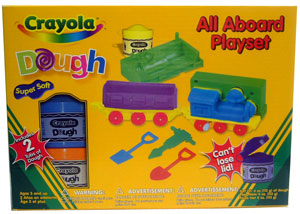 Crayola Dough All Aboard Playset