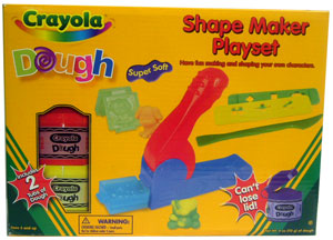 Crayola Dough Shape Maker Playset