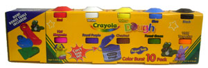 Crayola - Mega Colors Dough 10 Pack - Classic
