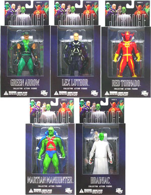 Justice League Alex Ross - Series 5 Set of 5