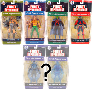 First Appearance - Series 4 Set of 5 RANDOM BLUE BEETLE