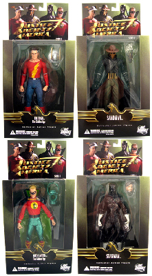ALEX ROSS JSA Justice Society of America - Series 1 Set of 4