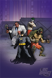 Batman - Arkham Asylum Box Set