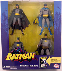 Batman Through the Ages Gift Set