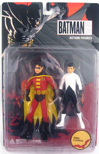 Batman and Son: Robin and Damian