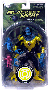 Blackest Night - Sinestro Corps Member Kryb