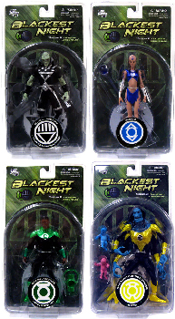 Blackest Night - Series 2 Set of 4