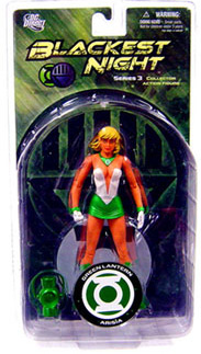 Blackest Night - GREEN LANTERN ARISIA