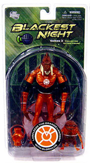 Blackest Night - LARFLEEZE THE ORANGE LANTERN WITH GLOMULUS