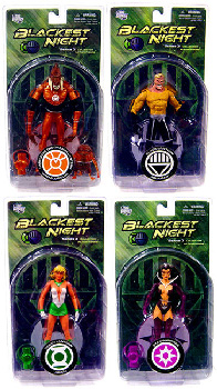 Blackest Night - Series 3 Set of 4