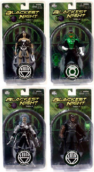 Blackest Night - Series 4 Set of 4