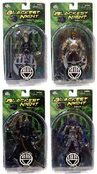 Blackest Night Series 5 - Set of 4