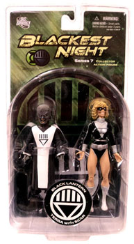 Blackest Night - Black Lantern Terra With Scar