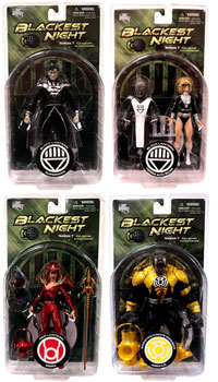 Blackest Night Series 7 - Set of 4