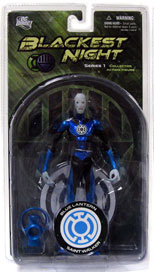 Blackest Night - Blue Lantern Saint Walker