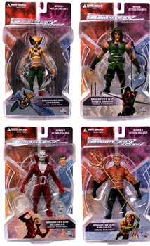 Brightest Day - Series 1 Set of 4