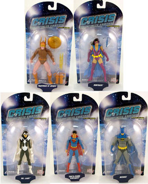 Crisis on Infinite Earths Series 3 Set of 5