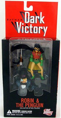 Batman Dark Victory: Robin and Penguin