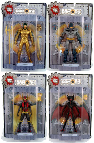 DC Armory - Series 1 Set of 4