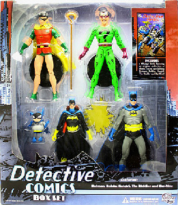 Detective Comics - Box Set [Robin, Riddler, Batgirl, and Batman]