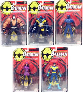 Dc Direct - Batman Knightfall Set of 5