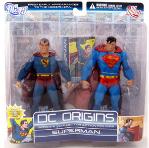 DC Origins - Superman 2-Pack