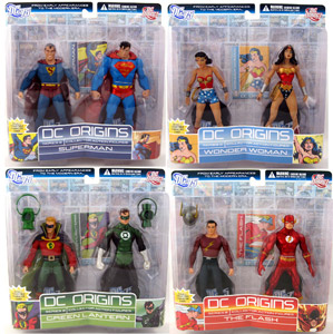 DC Origins - 2-Pack Series 2 Set of 4