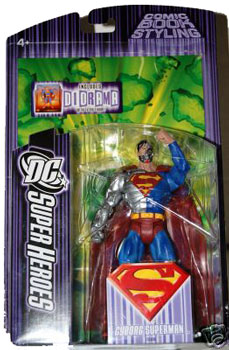 DC Superheroes - Cyborg Superman
