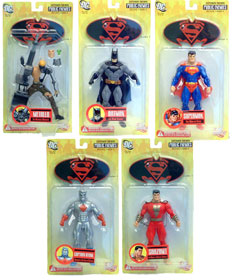 Superman & Batman Public Enemies Series 1 Set of 5