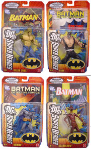 DC Superheroes - Series 1 Set of 4